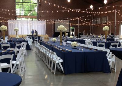 Knapp-Center-Iowa-State-Fair-Wedding-Linen-Rentals