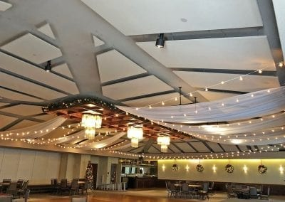 Des-Moines-Golf-&-Country-Club-Wedding-Ceiling-Draping