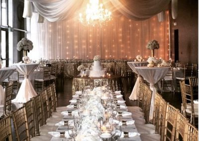 Ceiling Draping by Beyond Elegance