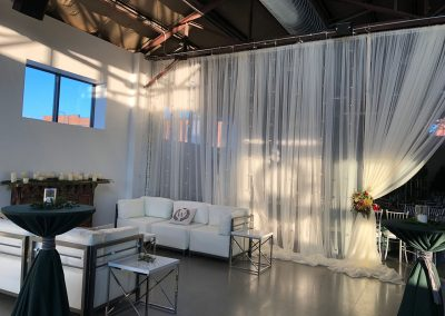 Curate Divider Wall Draping by Beyond Elegance